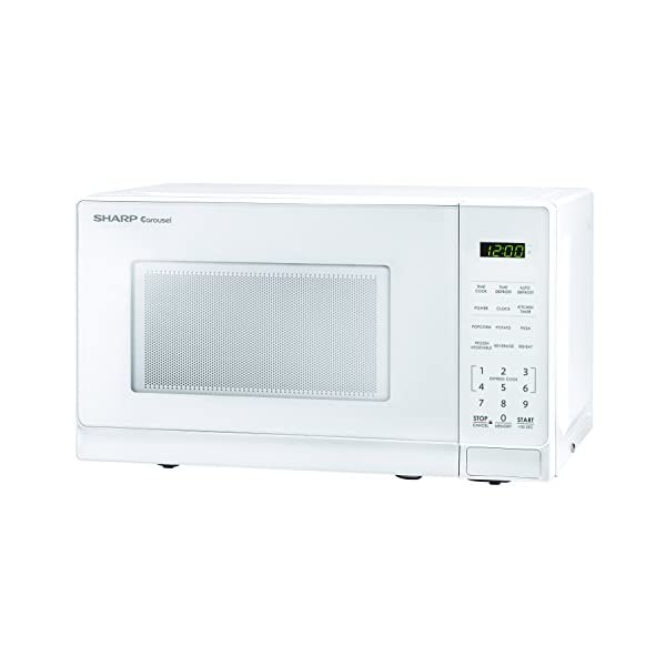 Sharp Microwaves ZSMC0710BW Sharp 700W Countertop Microwave Oven, 0.7 Cubic Foot, White 2