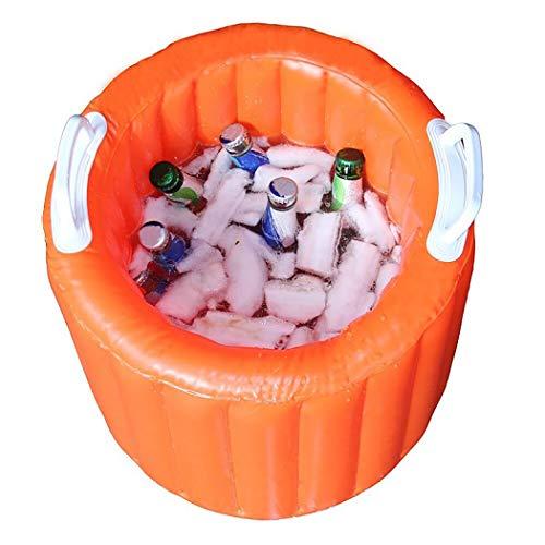 Fansport Inflatable Bucket Folding Lightweight Inflatable Cooler Inflatable Pool -