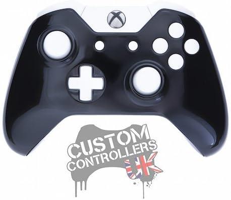 Xbox One Custom Controller - Gloss Black & White [Importación ...
