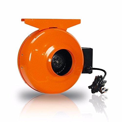 GrowBright High-Velocity 4-Inch Inline Duct Fan