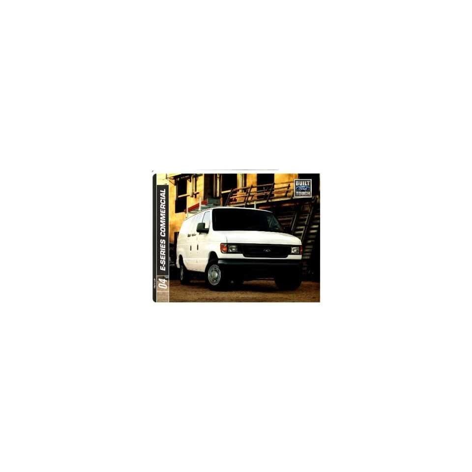 2004 Ford Commercial Vehicles Sales Brochure Literature Dealer Advertisement