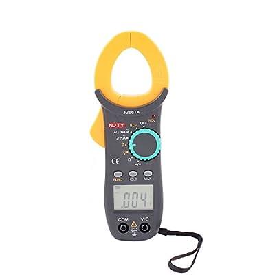 DMiotech DMiotech Auto Ranging Digital Clamp Multimeter AC / DC Voltmeter Ammeter Ohmmeter Voltage Current Resistor Multi Meter Tester LCD Display