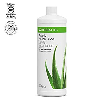Herbalife, Herbal Aloe Drink Ready-to-Serve Quart , Support Internal Cleansing And Healthy Elimination With Organics Nutrients., Original, Quart