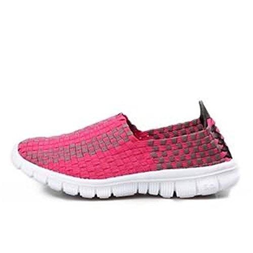Sportivo Passeggio da Rosa per Abbigliamento Sneaker Scarpe Vamp da Cricket AIgWppU