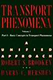 img - for Transport Phenomena: A Unified Approach Vol. 1 book / textbook / text book