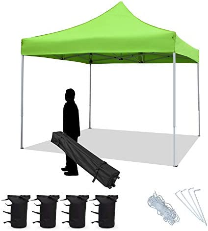 Flamaker Outdoor Canopy Tent Ez Pop Up Canopy 10×10 Instant Tent