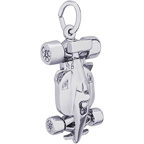 Rembrandt Charms Indy Car Charm, Sterling (Sterling Silver Car Charm)