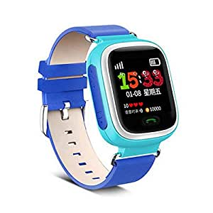 KOMIT Kids Smart Watch For Safety With Monitoring by App - Blue