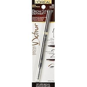 L'Oréal Paris Brow Stylist Definer Pencil, Brunette, 0.003 oz.