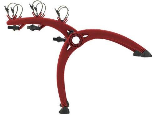 (Saris Bones 801R 3-Bike Trunk Mount Rack (Red))