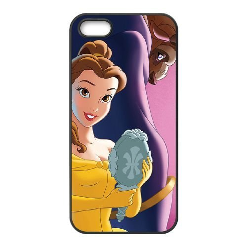 Beauty and the Beast The Enchanted Christmas iPhone 5 5s Cell Phone Case Black V0I3BK