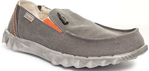 Hey Dude Farty Chalet Grey Shearling Slipons Para Hombre Zapatos