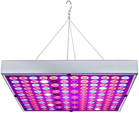 LED Grow Lights, Full Spectrum Panel Grow Lamp with IR UV LED Grow Lights for Indoor All Growing Plants, Seedling, Succulents, Garden, Greenhouse,Hydroponics 45W US Plug