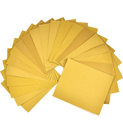 20 Piece,Multi use,sandpaper sheets,sand paper sheets,sandpaper sheet,sand paper sheet, 9'' x 11'',grit sandpaper wood furniture,sanding block,sanding blocks,home repair tools,paint tools
