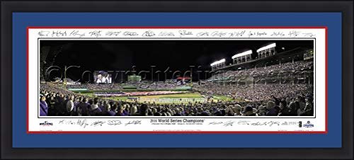 (Cubs Wrigley Field 2016 World Series Champions 42