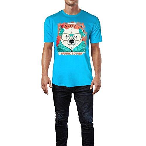 SINUS ART ® Süßer Hipster Polarbär