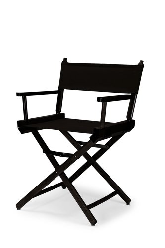 Telescope Casual Heritage Dining Height Director Chair, Black With Black  Frame By Telescope Casual