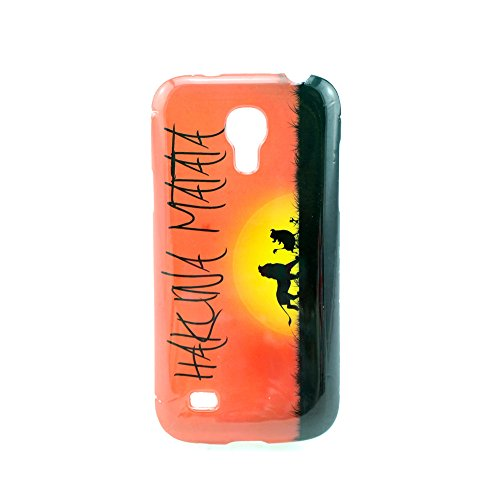 """Sunset HAKUNA MATAT Shock-Absorption TPU Cover Case for Samsung Galaxy S4 Mini i9190 (Package includes: 1 X Screen Protector and Stylus Pen image""""Gift_Source"""")"""