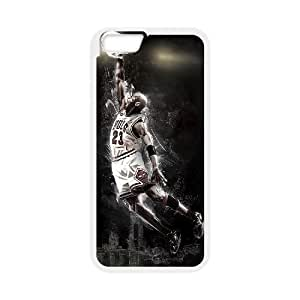 "Iphone6 4.7"" 2D Customized Hard Back Durable Phone Case with Michael Jordan Image"