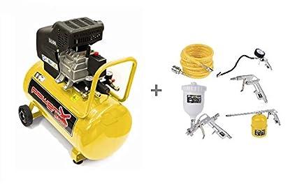 Compresor lubrificato ad Aceite 50 Lt, 2 Hp, 8 bar, 170 L/