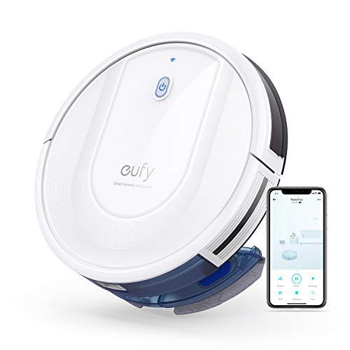 eufy RoboVac G10 Hybrid, Robot Limpiador Aspirador con navegación dinámica Inteligente, Barre y friega 2 en 1, Wi-Fi…