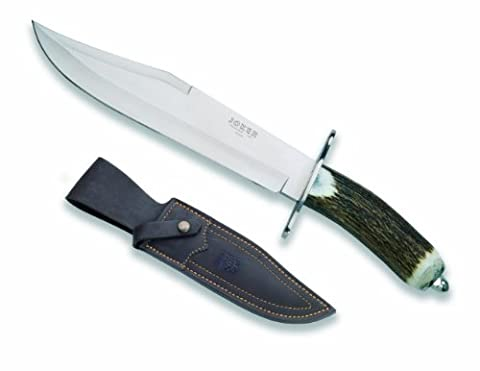 Joker CC101USA Bowie Knife, 9.75-Inch (Stag Horn Handle Knife)