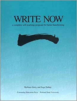 Write Now: A Complete Self-teaching Program for Better Handwriting