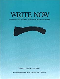Write Now: A Complete Self-teaching Program for Better Handwriting (0876780893) | Amazon price tracker / tracking, Amazon price history charts, Amazon price watches, Amazon price drop alerts