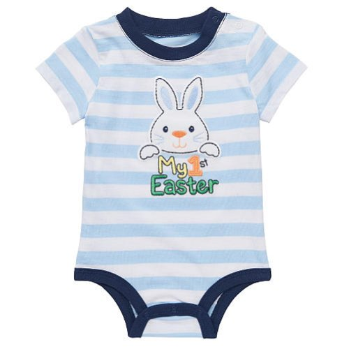 Mud Pie's Easter Cottontail baby collection is perfect for Spring or Easter wear. She'll look so cute in her Easter photos wearing one of these delightful Mud Pie Cottontail collection outfits featuring chiffon bunny and chick appliques.