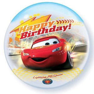 (Mayflower Distributing - Disney's Cars Birthday Bubble Shaped)