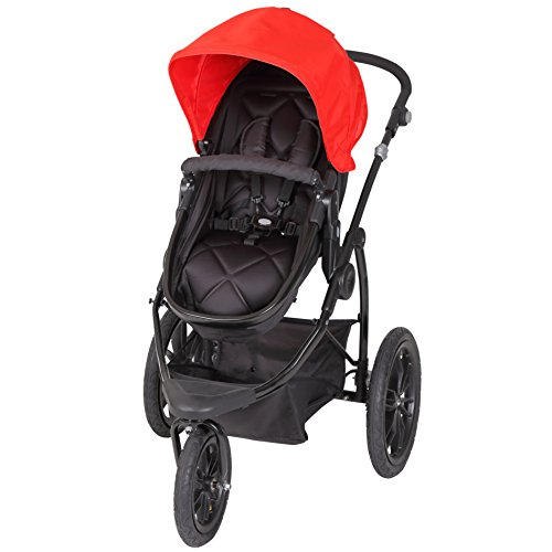 Baby Trend Manta Snap Gear Jogger Stroller, Lava (Month Lightweight 3 Strollers)