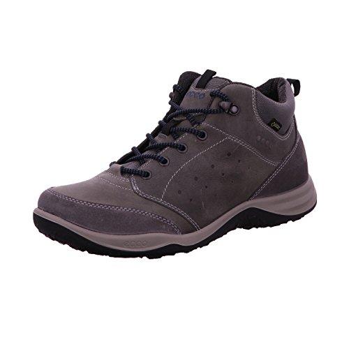 Chaussure De Randonnée Ecco Mens Esphino Haute Gore-tex Gris