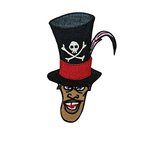 Witch Doctor Facilier Iron On Patch Princess & the Frog Disney Villain Applique (The Princess And The Frog Witch Doctor)