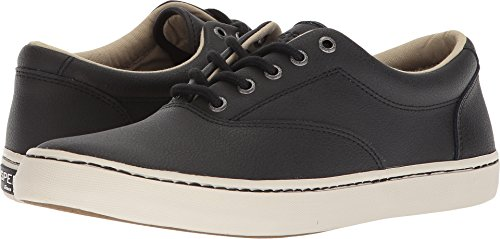 Sperry Mens Cutter Cvo Leather Black