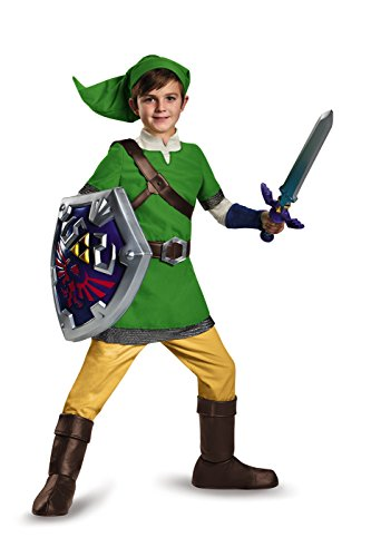 Deluxe Link Child Costume - X-Large -