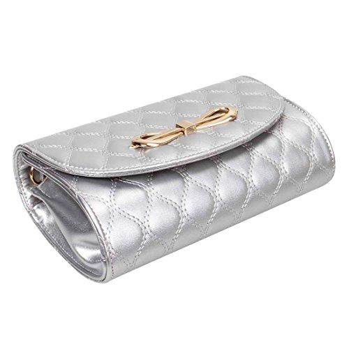 BMC - Costura de diamantes mujer gris - Shimmering Silver