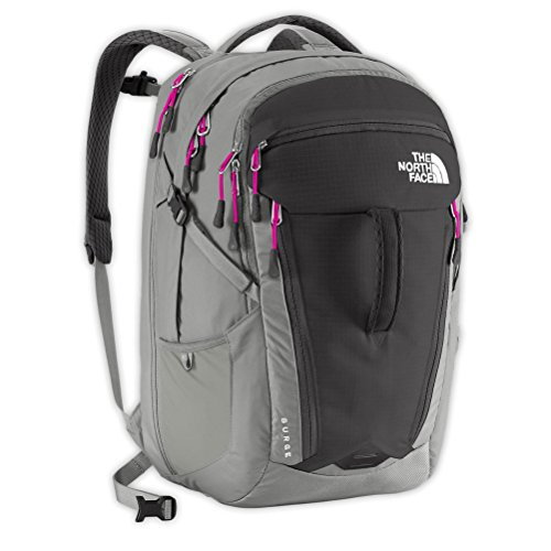 Women's The North Face Surge Backpack Asphalt Grey/Luminous Pink Size One Size
