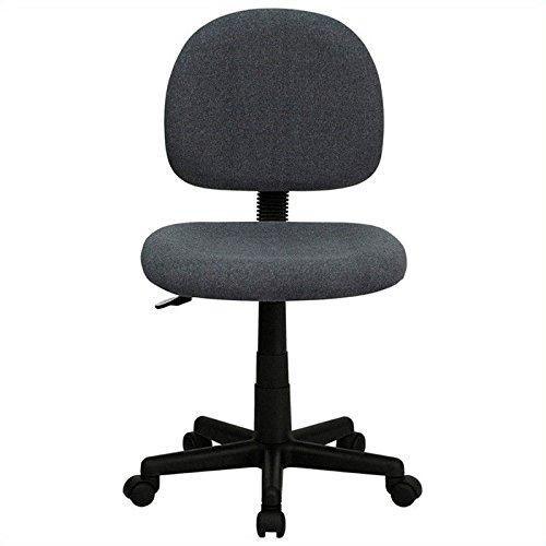 UPC 812581016208, Flash Furniture BT-660-GY-GG Mid-Back Ergonomic Gray Fabric Task Chair