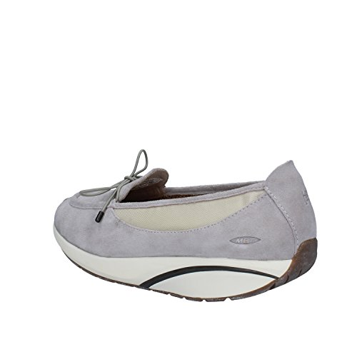 MBT Laini Grey Women's Walking Shoe On Slip rqr7vnwRf