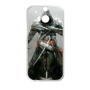 HTC One M8 Cell Phone Case White ezio auditore da firenze assassins creed revelations Popular games image WOK1042568