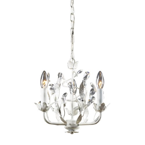 Elk Lighting 18112/3 Circeo Three Light Chandelier, Antique (Garden District Collection)