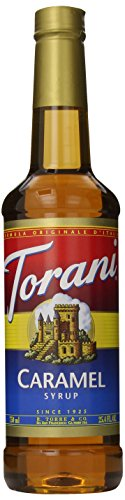 Torani Syrup, Caramel, 25.4 Ounces (Pack of 4)
