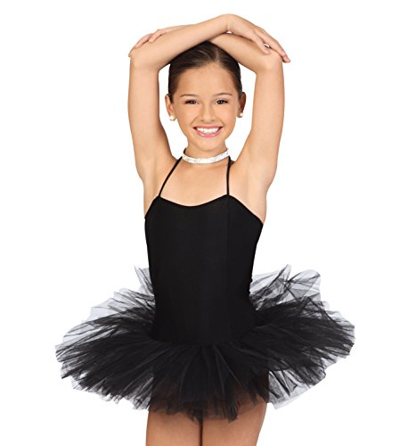 e48875fe8 ... Women Professional Ballet Tutu Costume Hard Organdy Platter 8 Layer  Skirt (Small) · Go to amazon.com · Child Tutu Dress,TF001BLKG,Black,G