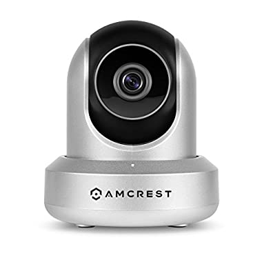 Amcrest HDSeries 720P WiFi Wireless IP Security Surveillance Camera System IPM-721S (Silver)