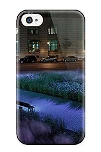 New Arrival Case Cover With Vjp-4085voCnBJcr Design For Iphone 4/4s- Un Parc Du Vieux Montreal