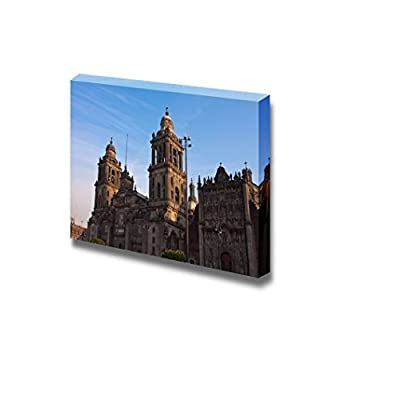 Canvas Prints Wall Art - Mexico City Cathedral | Modern Wall Decor/Home Decoration Stretched Gallery Canvas Wrap Giclee Print. Ready to Hang - 12