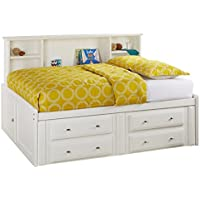 Catalina White Full Roomsaver Bed