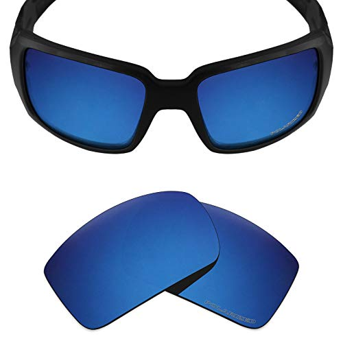 Mryok+ Polarized Replacement Lenses for Oakley Oil Drum - Pacific -