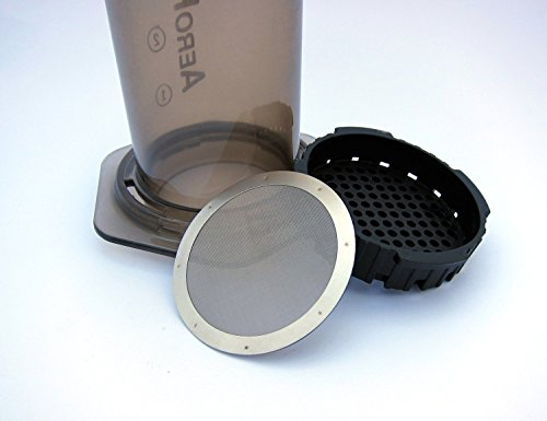 Reusable Premium Metal Filters by Slimm Filter for Use in the AeroPress Coffee Maker, Package of 2 Filters