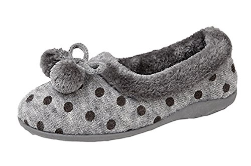 Sleepers Sleepers Gris Femme Chaussons Chaussons Pour xv5PSdxwq